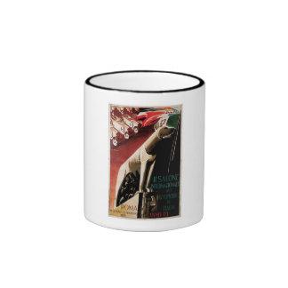 1929 - 11th Salone Internazional Dell Automobile Ringer Mug