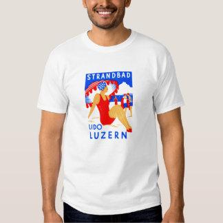 1929 Art Deco Strandbad Lido Luzern Shirts