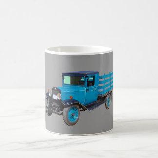 1929 Chevy 1 Ton Stake Body Truck Basic White Mug