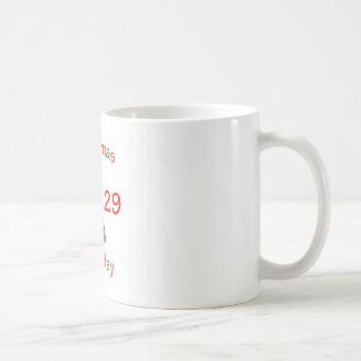 1929 Christmas Birthday Mugs