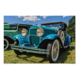 1929 Chrysler Classic Car Photographic Print