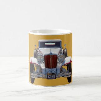 1929 Cord 6-29 Cabriolet Antique Car Coffee Mug