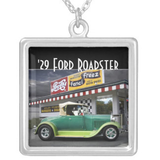 1929 Ford Roadster Hot Rod Drive-In Necklace