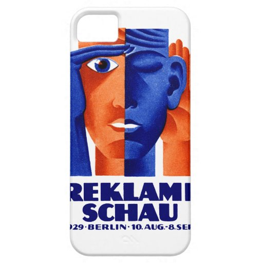 1929 German Advertising Exposition iPhone 5 Cover