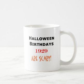 1929 halloween birthday coffee mugs