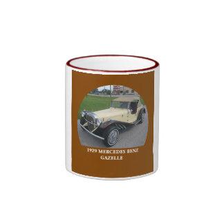1929 Mercedes Benz Gazelle Ringer Coffee Mug