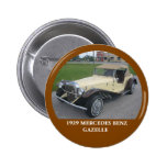 1929 Mercedes Benz Gazelle Pin