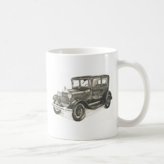 1929 model a basic white mug