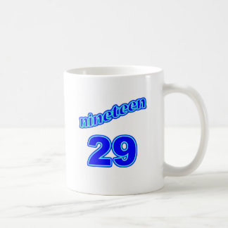 1929 Nineteen 29 Coffee Mugs