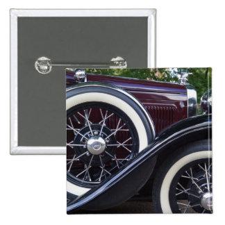 1930 Ford A Classic Car 15 Cm Square Badge