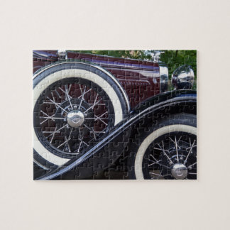1930 Ford A Classic Car Jigsaw Puzzle