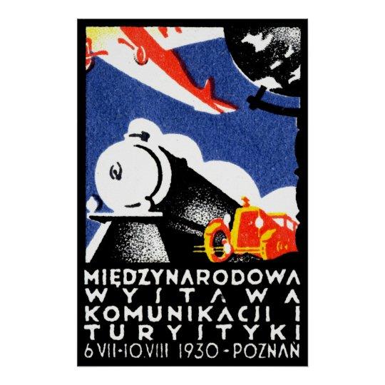 1930 Poznan Expo Poster