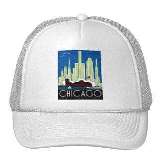 1930 Visit Chicago Poster Cap