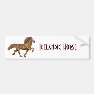 1930's Vintage Icelandic Bumper Sticker