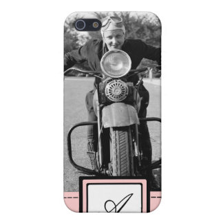 1930s Vintage Motorcycle iPhone Case & Monogram Covers For iPhone 5