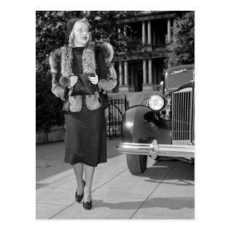 1930s Women s Fashion Post Card