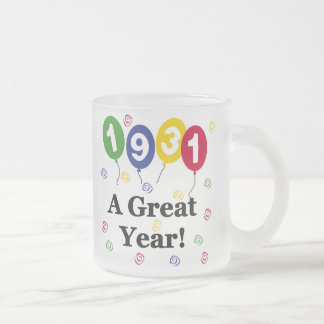 1931 A Great Year Birthday Mugs