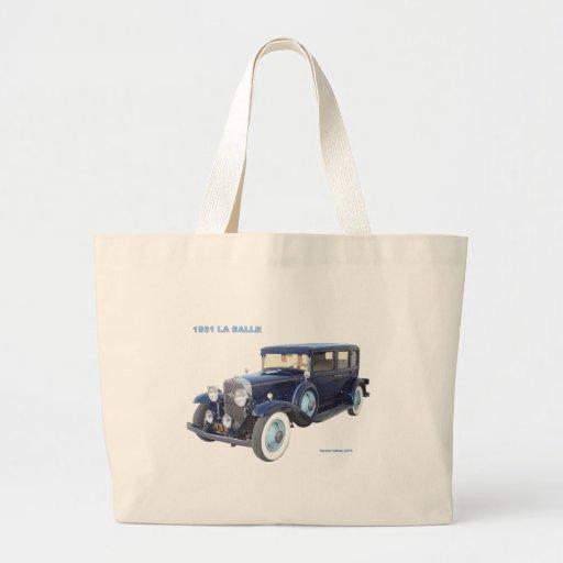 1931 CADILLAC LA SALLE TOTE BAGS