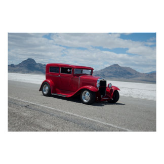 1931 Ford Sedan Bonneville Salt Flats Print