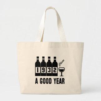 1932 A Good Year Jumbo Tote Bag