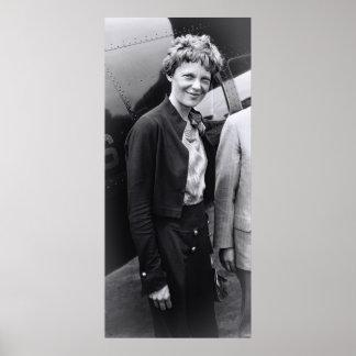 1932 AMELIA EARHART - AVIATRIX POSTER