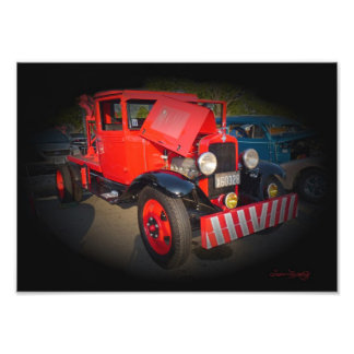 1932 CHEVY TOW TRUCK PHOTO PRINT