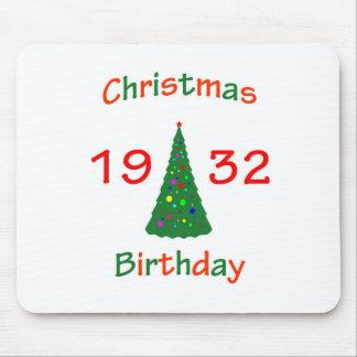 1932 Christmas Birthday Mousepad
