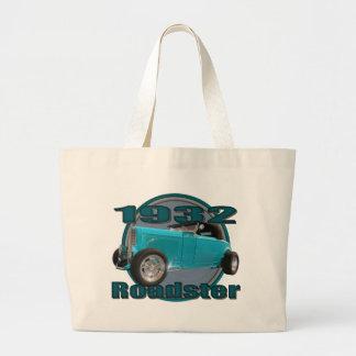 1932 Ford Deuce Roadster Sky Blue Tote Bags