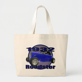 1932 Ford Roadster Midnight Blue Canvas Bags