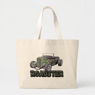 1932 Ford Roadster Street Rod Green Mamba Tote Bag