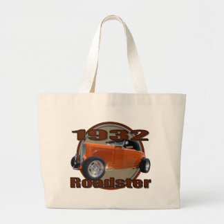 1932 Ford Roadster Tangerine Dream Canvas Bags