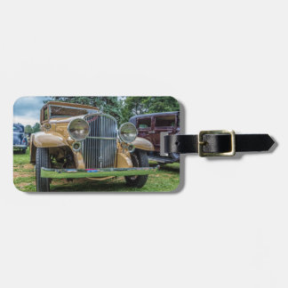 1932 Franklin Classic Car Luggage Tag