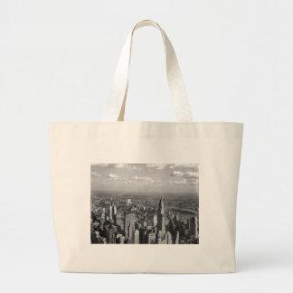 1932-New York-Chrysler Building Tote Bags