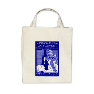 1932 Vienna Baking Expo Poster Bags