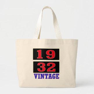 1932 Vintage Canvas Bags
