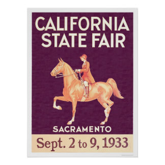 1933 California State Fair Poster