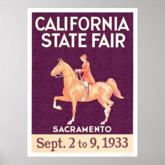 1933 California State Fair Poster