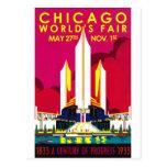 1933 Chicago World Fair Post Card