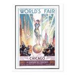 1933 Chicago World's Fair Postcard