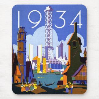 1934 Chicago World's Fair Mouse Mat