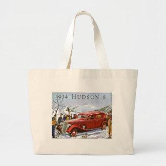 1934 Hudson 8 - Vintage Advertisement Bags