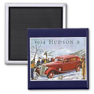 1934 Hudson 8 Vintage Advertisement Magnet