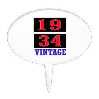 1934 Vintage Cake Pick
