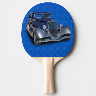 1934 VINTAGE CAR PING PONG PADDLE