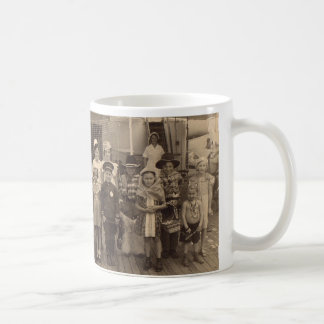 1935 childrens shipboard costume party Fun and exc Coffee Mug