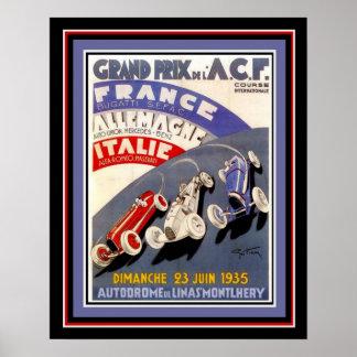 1935 Grand Prix 16 x 20 Poster