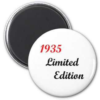 1935 Limited Edition 6 Cm Round Magnet
