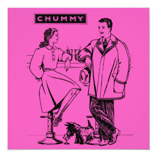 1935 Pink Chummy Announcement