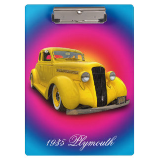 1935 PLYMOUTH CLIPBOARD
