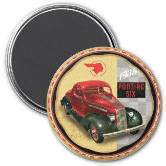 1935 pontiac Six 7.5 Cm Round Magnet